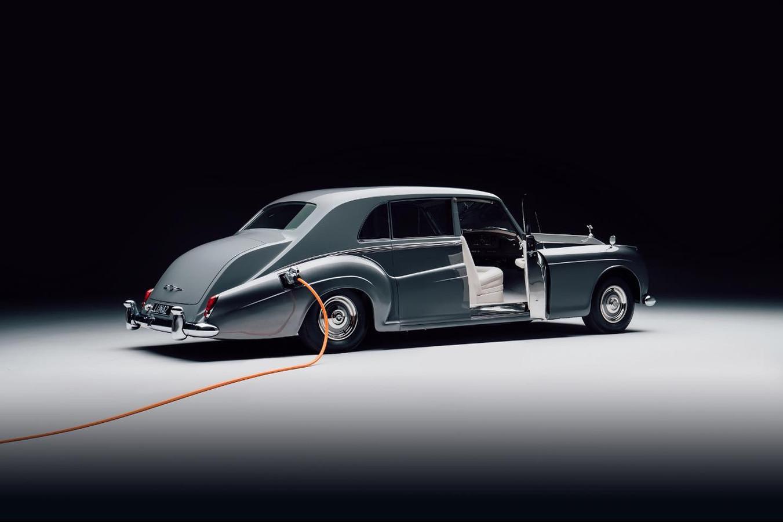 Een elektrische Rolls-Royce Phantom uit 1961, met een prijskaartje van 580.000 euro.