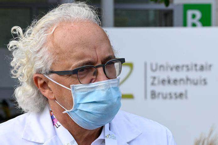 Dr. Marc Noppen,  CEO van het UZ Brussel, schoof mee aan tafel bij Het Corona Debat 2.0