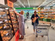 De nieuwe Lidl in Oisterwijk is 'dubbel zo breed en dubbel zo hoog'