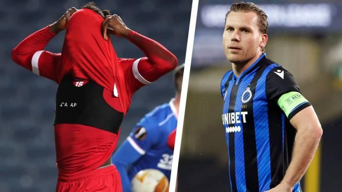 Zwarte Europese avond voor Belgische clubs is ook pijnlijke zaak voor Europese coëfficiënt: somber perspectief voor Belgische landskampioen in 2023