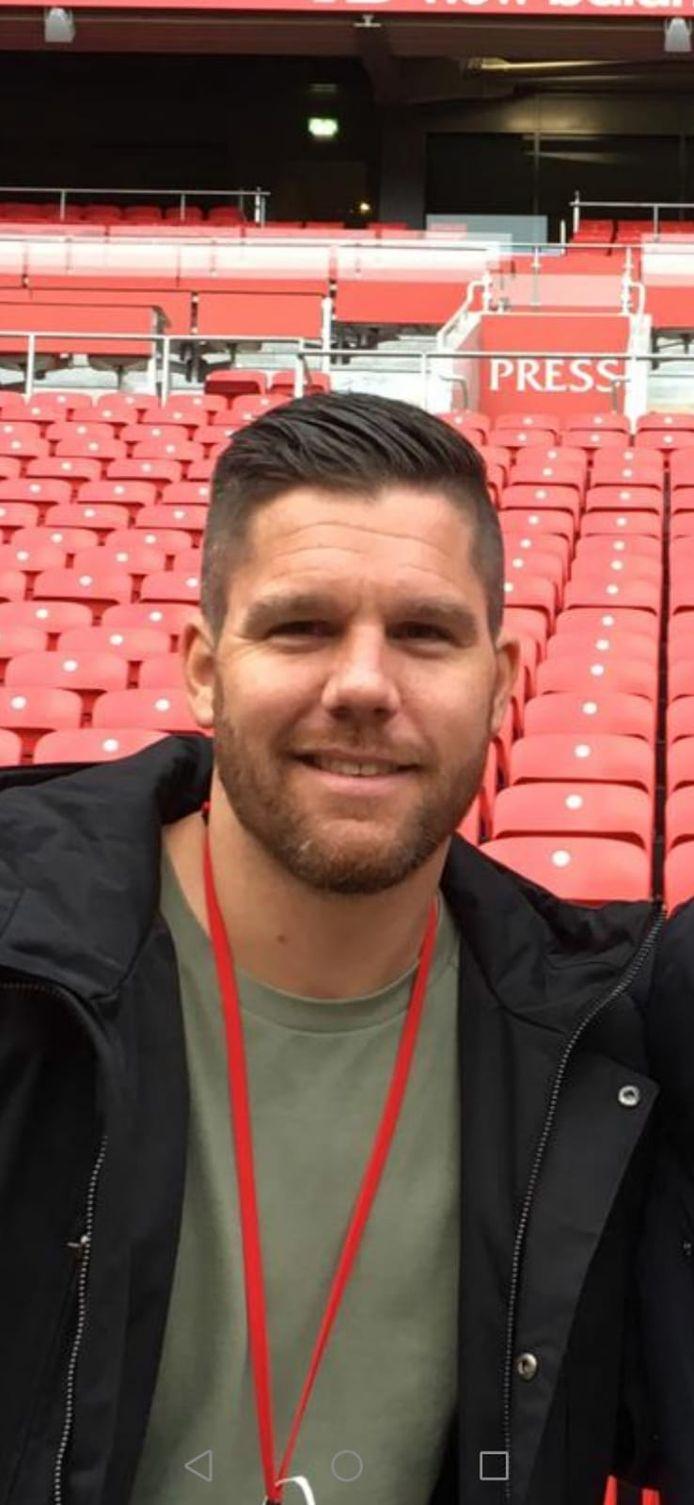 Ricky Houterman, voetballer en aanvoerder van Sc Bemmel.