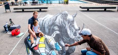 Zitten, staan of liggen in een schilderij: World Street Painting komt naar Doetinchem