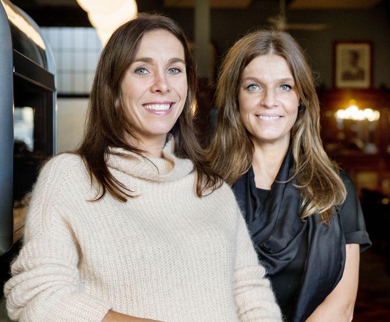 Isabel Van den Broeck (l.) en Greet Wachters: