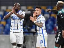 Romelu Lukaku malchenceux, l'Inter freiné par le Napoli de Dries Mertens