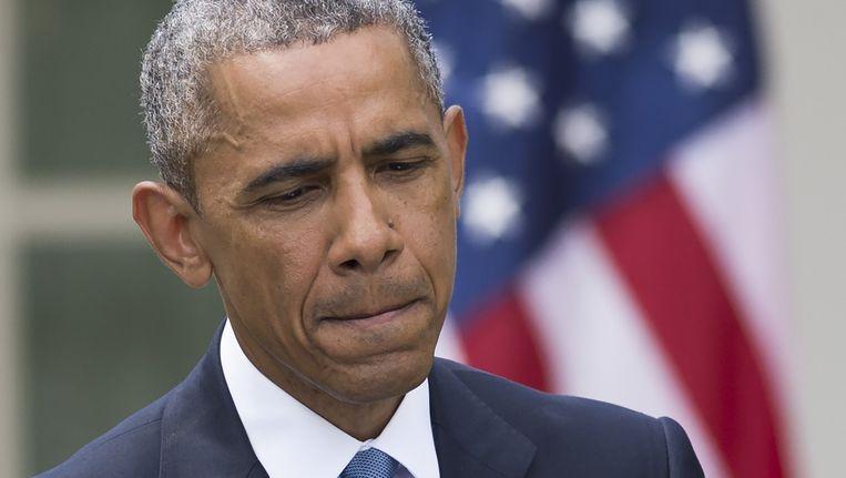 Amerikaans president Barack Obama. Beeld AFP