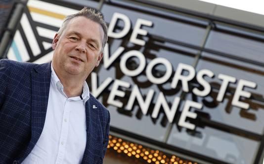 Wethouder Peter van Steen bij De Voorste Venne.