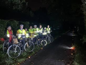 """""""Slimme verlichting op fietssnelweg nodig"""": N-VA voert actie voor ingrepen op F411"""