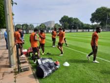Willem II traint voor het eerst onder nieuw trainersduo Grim/Landzaat