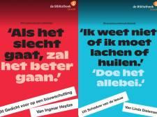 Posters met 'troostzinnen' in de stad moeten Utrecht door de coronapandemie helpen