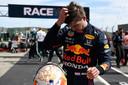 Max Verstappen na de Grand Prix van Portugal.