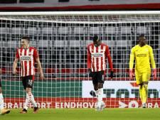 PSV ligt nog redelijk op koers, maar haalt weinig punten rimpelloos of zorgeloos binnen