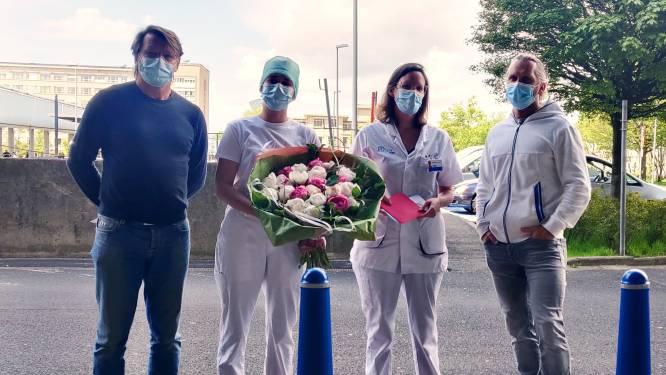 """Okinawa deelt bloemen uit aan de zorg: """"Steun in deze moeilijke tijden"""""""