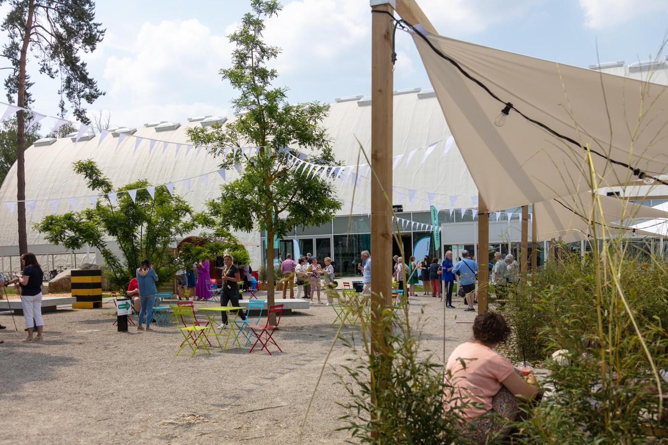 Het pop-upconcept is uitgerold aan het SportinGenk Park.