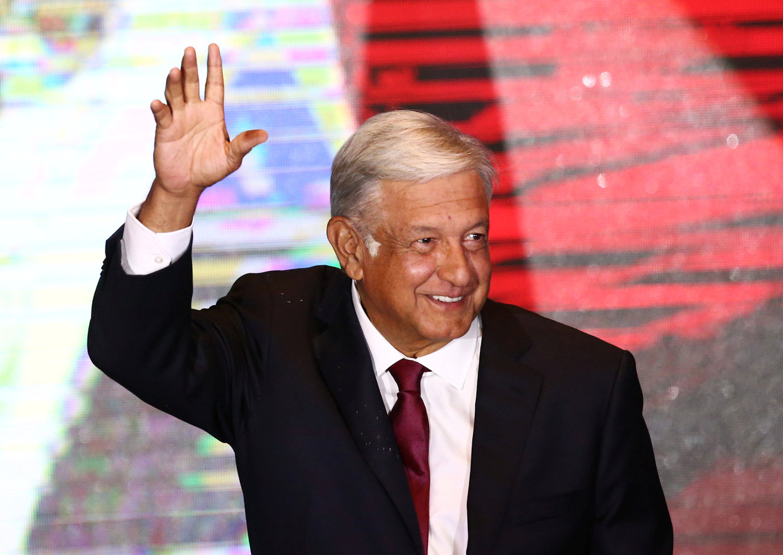 President 'Amlo' Andrés López Obrador. Beeld REUTERS