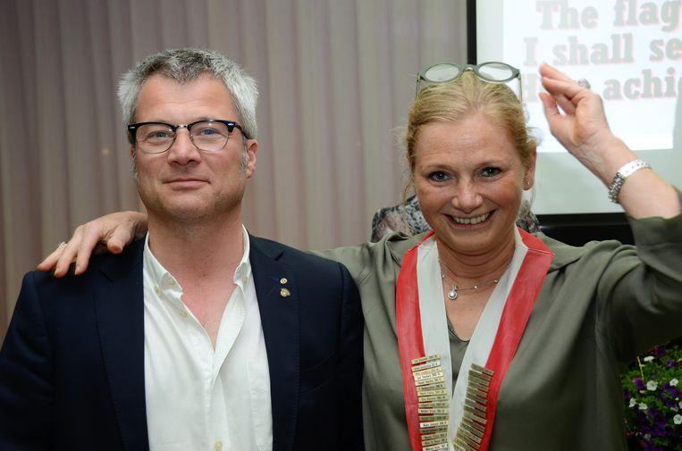Lut De Coster is de nieuwe voorzitter van Rotary Gistel