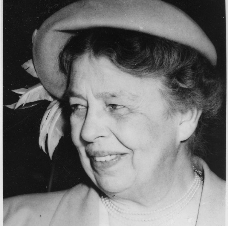 Eleanor Roosevelt. Beeld U.S. National Archives and Records Administration