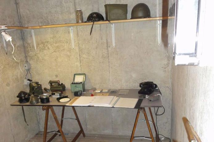 Bunker uit de Koude Oorlog in de Boswachterij Westerschouwen.