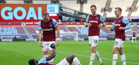 Pieters met Burnley onderuit bij West Ham, Veltman verrast Leeds met Brighton