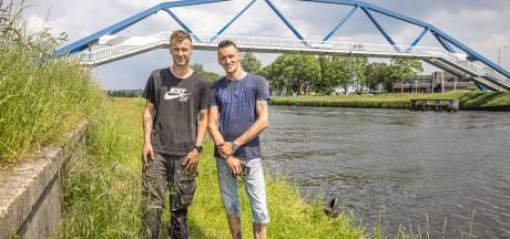 Bas en Richard deden lugubere vondst in water in Zwolle: 'We hadden geen idee wat er aan het touw zat'