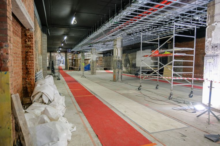 metrostation Beurs krijgt tentoonstellingsruimte