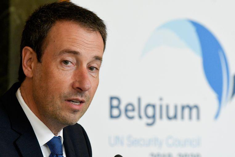 Minister van Buitenlandse Zaken Philippe Goffin