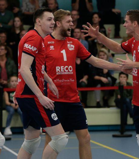 Voor de liefde verhuist ZVH-volleyballer Gianno Beij naar Zweden