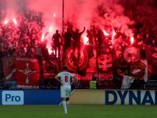 UEFA klaagt Spartak Moskou aan na vuurpijl op veld