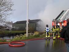 Omgeving brand Nieuwland hermetisch afgesloten in verband met asbest