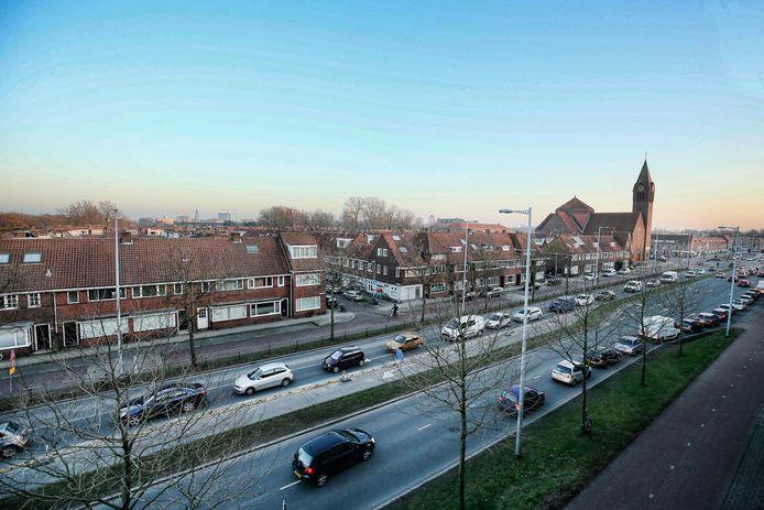 De Thomas à Kempisweg, onderdeel van de Westelijke Stadsboulevard.