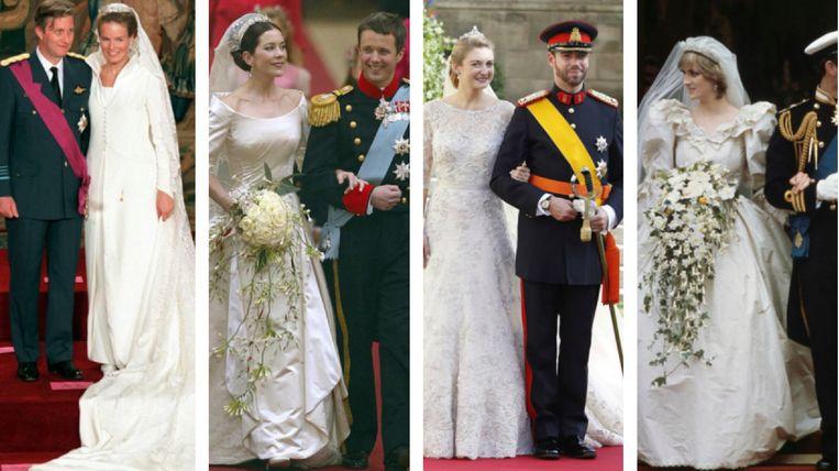 Mooiste Bruidsjurken.Poll Welke Van Deze Tien Koninklijke Trouwjurken Vind Jij De