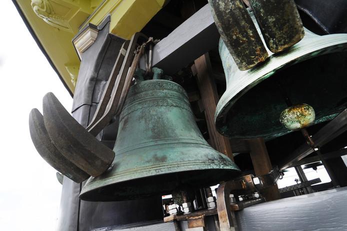 Het carillon in Veere (foto 2014)