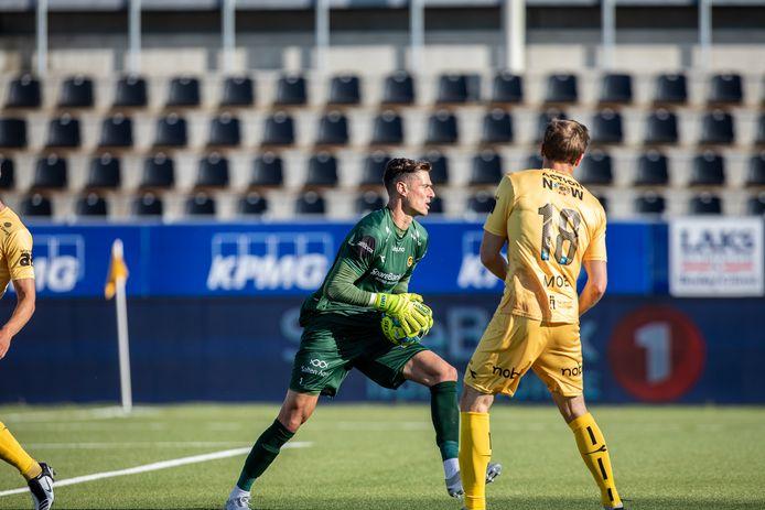 Joshua Smits als doelman van FKBodø/Glimt.