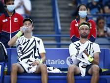 Le duo Gillé-Vliegen déjà éliminé à l'US Open