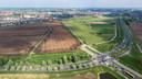 De toekomstige nieuwbouwwijk De Tippe in Stadshagen.