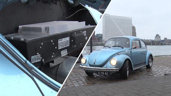 Kever Blue rijdt elektrisch