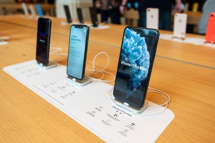 De huidige generatie iPhone 11