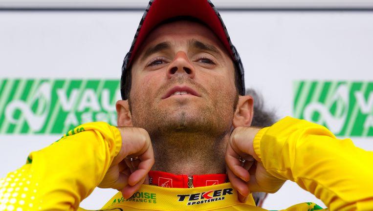 Vorig jaar was de inmiddels geschorste Alejandro Valverde nog eindlaureaat in Romandië. Beeld AFP