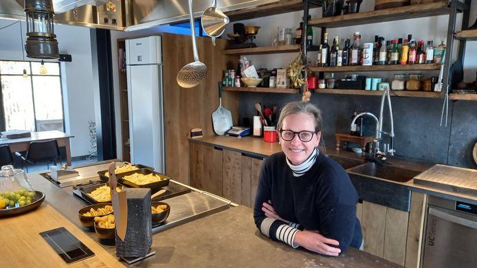 Tine De Grave wil in de nieuwe bistro Andrée koken voor een beperkt gezelschap.