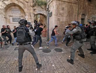 Palestijnen en Israëlische politie raken opnieuw slaags in Jeruzalem