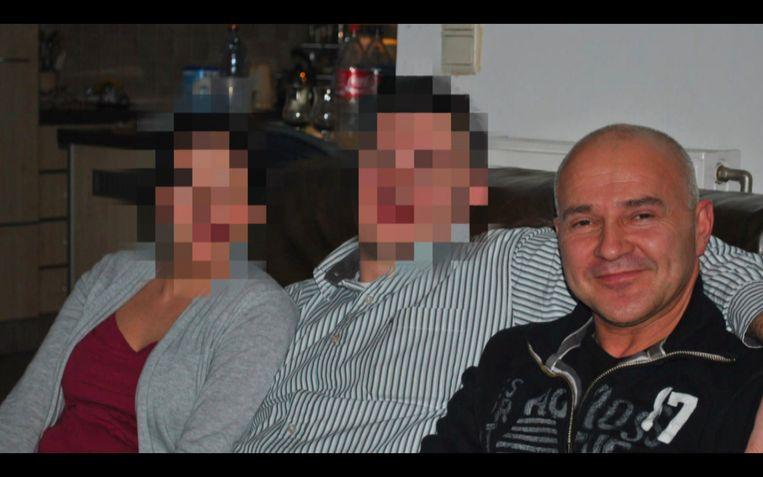 Slachtoffer Johan Van der Heyden. Beeld VTM