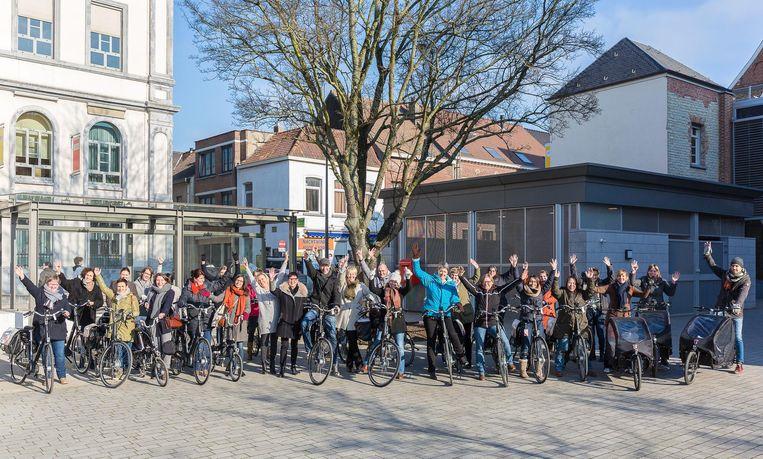 34 werknemers van de stad Vilvoorde mogen de komende weken elektrische fietsen uittesten.