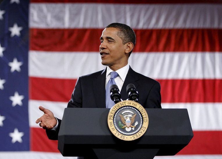 Obama maakt ook elders optimaal gebruik van de kwetsbaarheid van de oppositie. Zo heeft het Witte Huis een ultimatum gesteld aan de Republikeinen: voor oktober moet er een compromis zijn over een nieuw gezondheidsstelsel. Foto EPA Beeld
