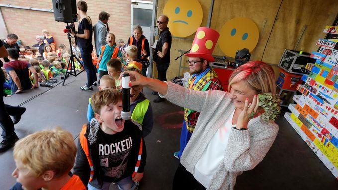 350 kinderen verpulveren wereldrecord 'langste schreeuw'