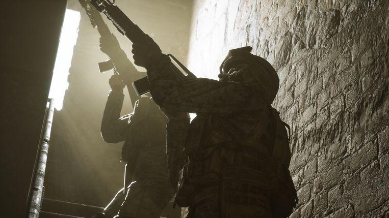 'Six Days in Fallujah' wordt een schietgame, maar zal volgens de makers ook een soort speelbare documentaire worden. Beeld Victura