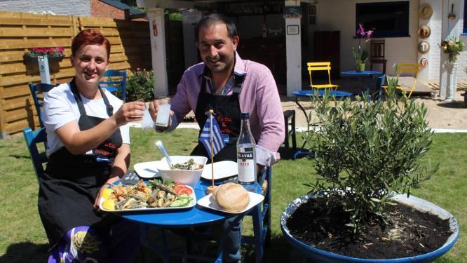 Vorige zomer nog pop-up, vanaf nu volwaardig restaurant: 'Feta en Olijven' zorgt voor Griekse sfeer in hartje Aalter