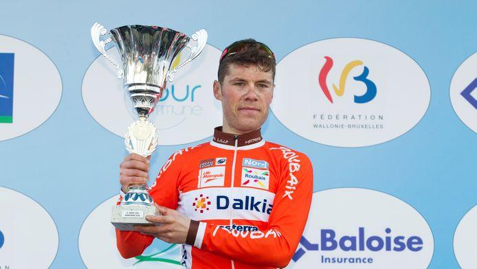 Maxime Vantomme, de winnaar van vorig jaar.