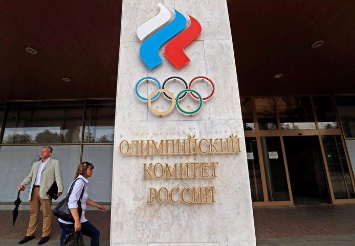 Het Russische Olympisch Comité.