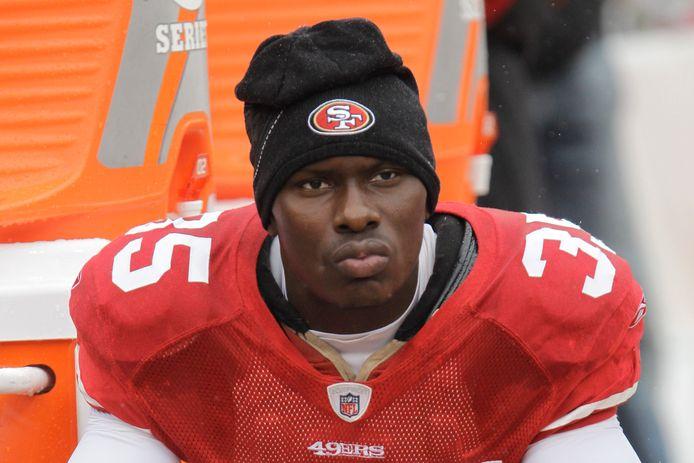 Phillip Adams als speler van San Francisco 49ers.