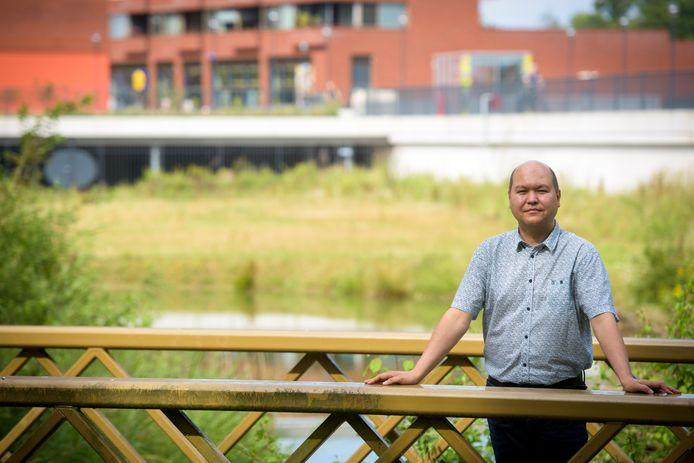 Eindhoven, Meerhoven: Ruben Trieling, lid van de klankbordgroep voor het politiecomplex in de wijk.