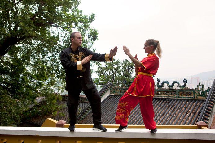 Frans en zijn vrouw Mariska in China